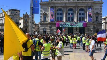 France : Faible mobilisation des gilets jaunes pour l'acte 30, sauf à Montpellier qui résiste
