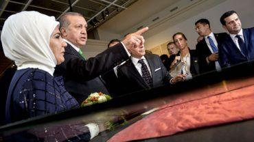 Inauguration d'Europalia Turquie: 4 manifestants anti-Erdogan arrêtés