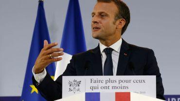France: Emmanuel Macron lance un plan contre la pauvreté