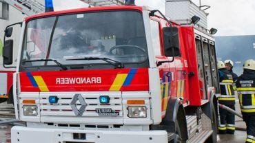 Un camion des pompiers de Kontich