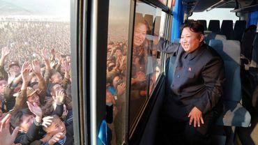 """Pyongyang s'apprête à sacrer son """"Grand soleil"""" Kim lors d'un congrès historique"""