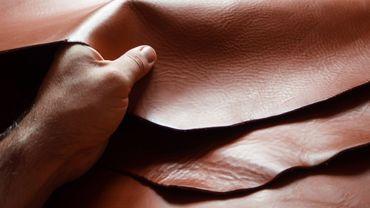"""La filière du cuir veut """"aller plus loin"""" pour réduire son impact environnemental."""