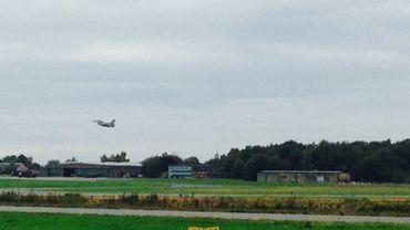Les F-16 belges ont décollé à 16h30 vers la Grèce.