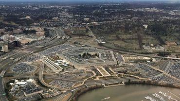 Le Pentagone, quartier général du ministère américain de la Défense, le 24 janvier 2017