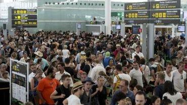 Aéroport de Barcelone: la Garde civile en renfort pendant une grève des agents de sécurité