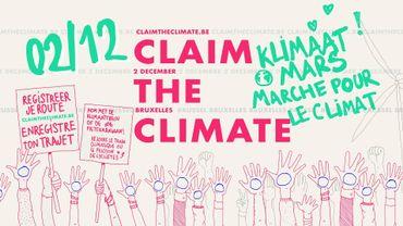"""L'événement Facebook """"Claim the Climate"""" compte quant à lui plus de 33.000 participants."""