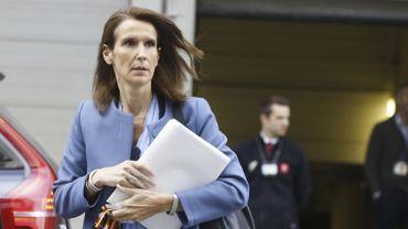 Sophie Wilmès, ministre fédérale du Budget.