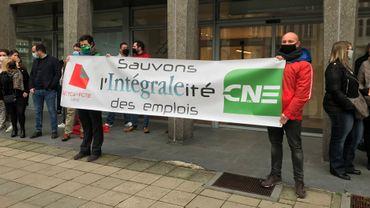 Liège: les travailleurs d'Intégrale en faveur d'un mouvement de grève de 24 heures