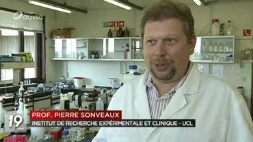 Pierre Sonveaux dans son laboratoire.