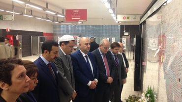 L'imam de Drancy se reccueille à Malbeek