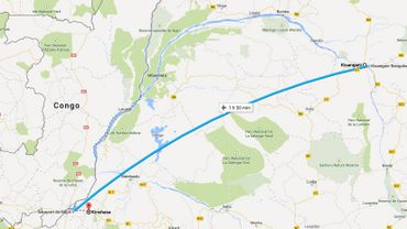 RDC: un ancien bateau reprend du service sur la ligne Kinshasa-Kisangani