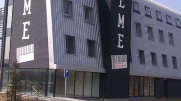 La nouvelle Maison des entreprises à La Louvière