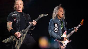 Metallica rend hommage à Lemmy Kilmister
