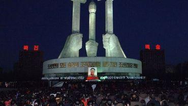 La population vient rendre hommage à Kim Jong-Il