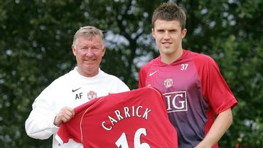 Alex Ferguson et Michael Carrick