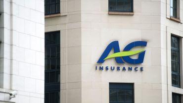 Le logo d'AG Insurance
