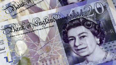 La livre sterling en nette hausse