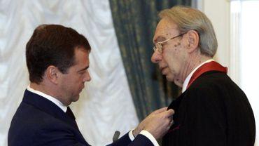 Dmitry Medvedev et Alexeï Batalov