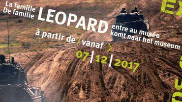 Une exposition au Musée Royal de l'Armée consacrée aux 50 ans du char Léopard