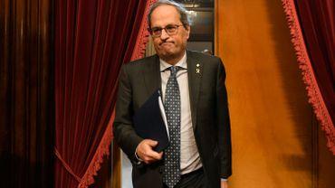 Le président indépendantiste catalan perd son mandat de député