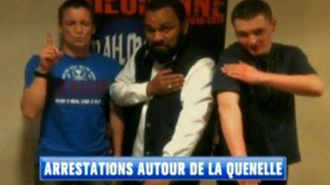 """En France, six jeunes ont été arrêtés après avoir tentés de faire justice eux-même contre des personnes adeptes du salut dit """"de la quenelle"""""""