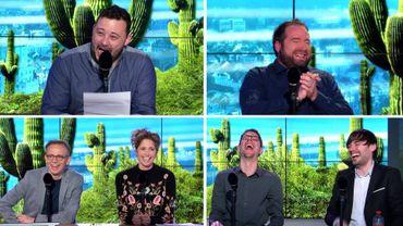 Énorme fou rire dans Le Cactus: quand Fabian Le Castel tente désespérément d'imiter Jair Bolsonaro