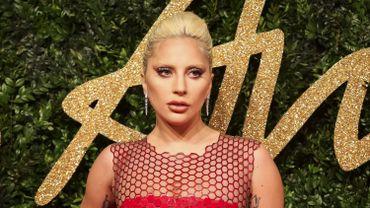 """La chanteuse et actrice Lady Gaga a fait ses débuts à la télévision cette année dans """"American Horror Story"""""""