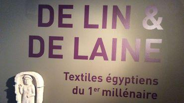 De lin et de laine, les textiles égyptiens du 1e millénaire au Musée Royal de Mariemont