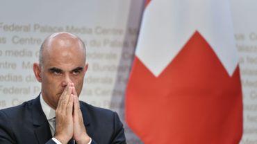 Alain Berset, le ministre de la Santé helvétique.
