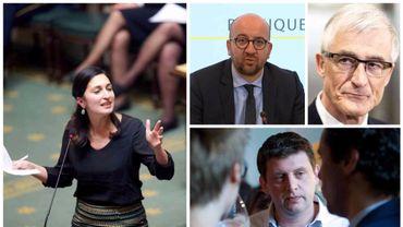 "Déclarations de Zuhal Demir: John Crombez, qualifie Charles Michel et Geert Bourgeois d'""andouilles"""