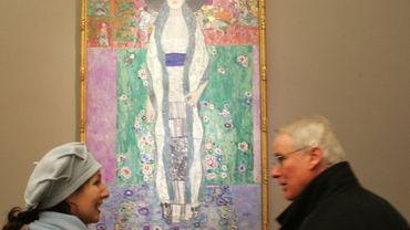 Une oeuvre de Gustav Klimt