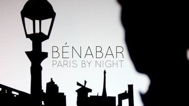 """Pochette du single """"Paris By Night"""" de Bénabar"""