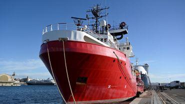 Plusieurs cas de coronavirus détectés à bord du navire de sauvetage Ocean Viking