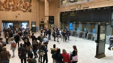 A la gare Centrale à 16h30, une quinzaine de trains sont annoncés