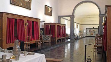 La salle des malades de l'Hôpital Notre-Dame à la Rose