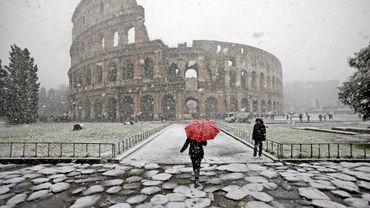 La neige à Rome, c'est exceptionnel, même si cela s'était déjà produit en 2010