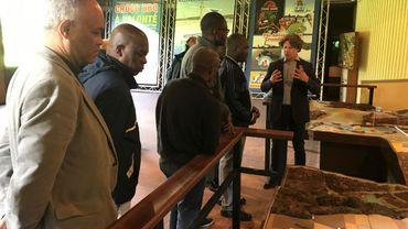 La délégation haïtienne s'est fort intéressée à l'infrastructure technique et touristique du site