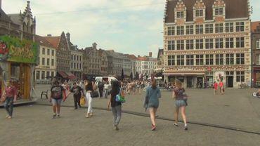 Piétonnier: à Gand, le piétonnier a donné un coup de fouet au centre ville