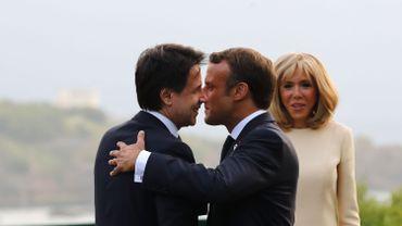 Emmanuel Macron à Rome pour renouer avec l'Italie