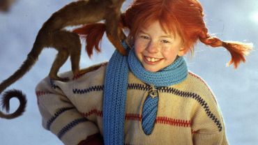 Fifi Brindacier est en Suède une icône de la littérature enfantine.
