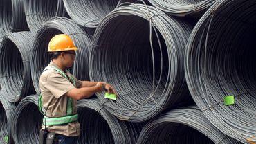 L'économie sud-américaine (ici, un ouvrier brésilien) se porte bien. Pour le moment...
