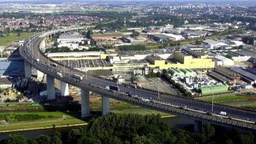 Le centre commercial devait s'installer à deux pas du viaduc de Vilvorde