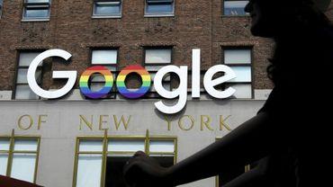 Les bureaux de Google à New York, le 3 juin 2019