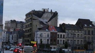 La nouvelle fresque, à côté du Petit Château.