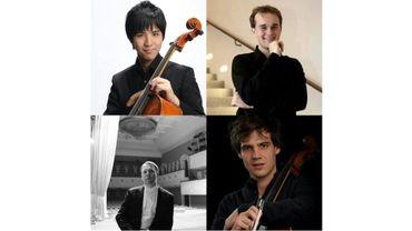 Shizuka Mitsui, Shizuka Mitsui, Alexey Zhilin et Victor Julien-Laferrière