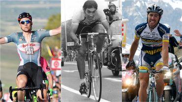 6 chiffres belges (Giro)phare du Tour d'Italie
