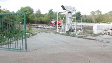 Le dôme qui recouvrait le compost a été détruit il y a quelques jours à Forest