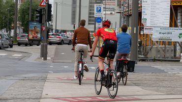 Plus de 6000 p.-v. dressés contre les cyclistes au premier semestre 2020.