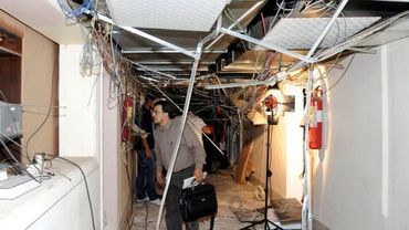 Attentat au siège de la radio-télévision à Damas