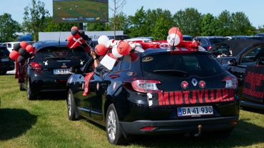 Une défaite pour Midtjylland devant des supporters en mode drive-in en Suède